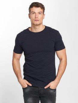 Aarhon t-shirt Destroyed blauw