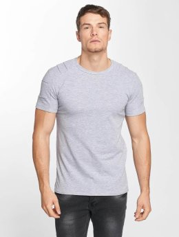 Aarhon T-Shirt Destroyed gray