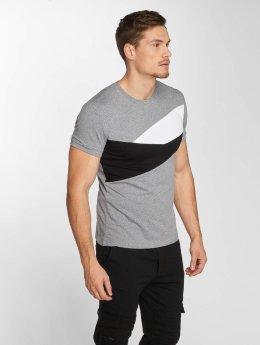 Aarhon T-Shirt Stripes grey