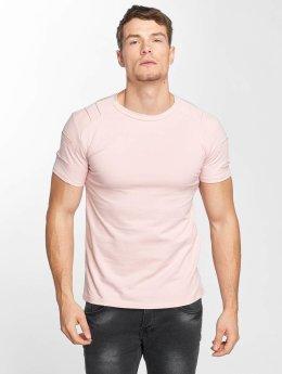Aarhon T-Shirt Destroyed magenta
