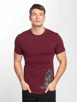 Aarhon T-Shirt Flower Print rot