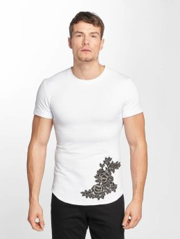 Aarhon t-shirt Flower Print wit