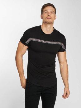 Aarhon t-shirt Streak zwart