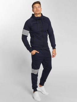 Aarhon Trainingspak Stripes blauw