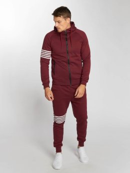 Aarhon Trainingspak Stripes rood