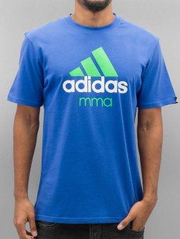 adidas Boxing MMA T-Shirt Community blau
