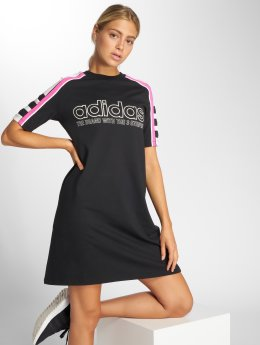 adidas originals Šaty Tee Dress  čern