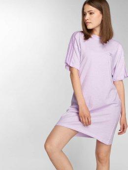adidas Dye T-Shirt Dress Purple Glow