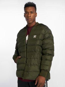 adidas originals Демисезонная куртка Sst Reverse оливковый