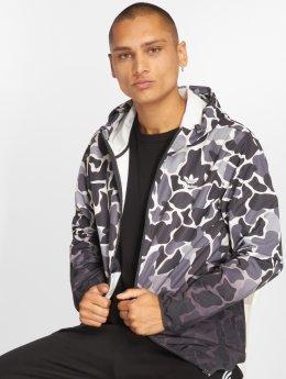 adidas originals Демисезонная куртка Camo Wb Transition серый