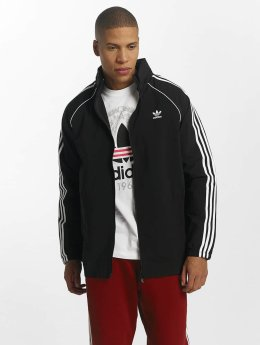 adidas originals Демисезонная куртка Superstar Windbreaker черный