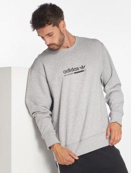 adidas originals Пуловер Kaval Crew серый