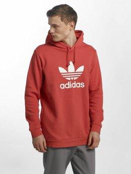 Adidas Trefoil Hoody Trace Scarlet