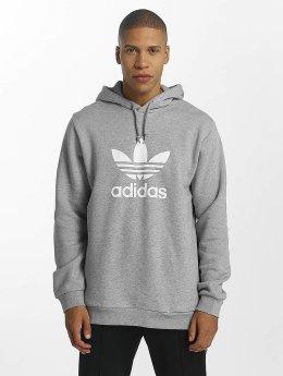 Adidas Trefoil Hoody Medium Grey Heather