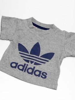 adidas originals Футболка I Trefoil серый