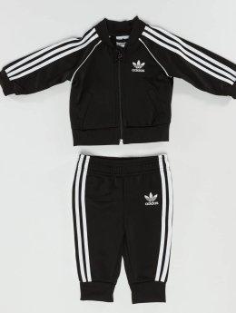 adidas originals Anzug SST schwarz