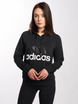 adidas originals Bluzy z kapturem Essentials czarny