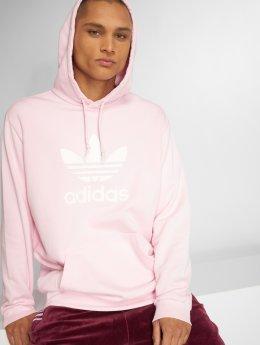 adidas originals Bluzy z kapturem Trefoil Hoody pink