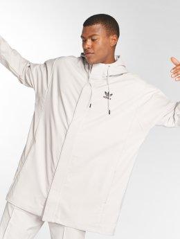 adidas originals Hooded Coach Jacket Chalk Pearl