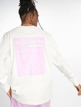 adidas originals Camiseta de manga larga Kaval Grp blanco