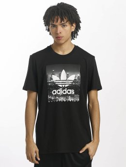 adidas originals Camiseta NY Photo negro