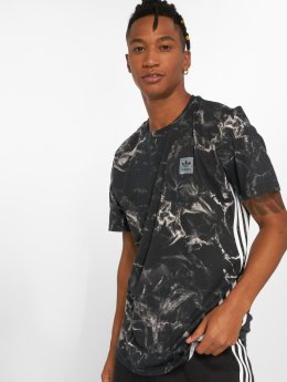 adidas originals Camiseta Mrbl Stripe negro