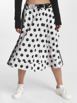 adidas originals Gonna Midi Skirt bianco