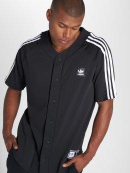 adidas originals Hemd Jerseybball schwarz