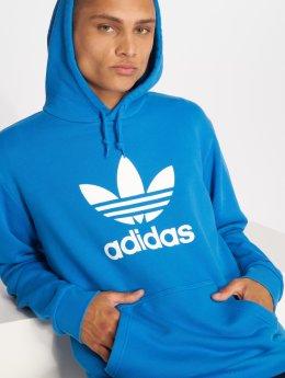 adidas originals / Hoodie Trefoil i blå