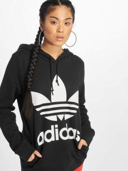 adidas originals Hoodie Trefoil  svart