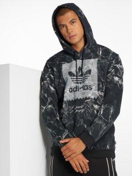 adidas originals Hoodies Mrble Aop Hd čern