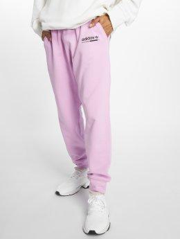 adidas originals Jogging kalhoty Kaval fialový