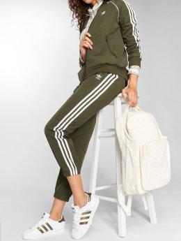 adidas originals Jogging kalhoty Regular Tp Cuf olivový