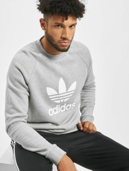 Adidas Trefoil Sweatshirt Medium Grey Heather