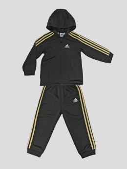 adidas originals Kurtki przejściowe I E Shiny Hooded czarny