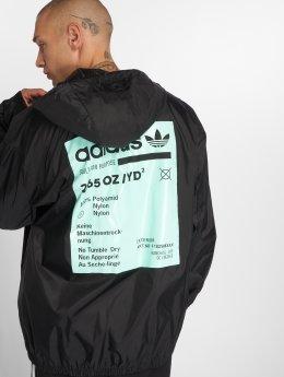 adidas originals Kurtki przejściowe Originals Kaval Grp Wb czarny