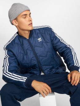 adidas originals Kurtki przejściowe Sst Quilted niebieski