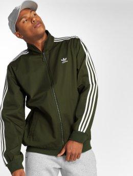adidas originals Kurtki przejściowe Co Wvn Tt Transition oliwkowy