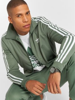 adidas originals Kurtki przejściowe Beckenbauer Tt Transition zielony