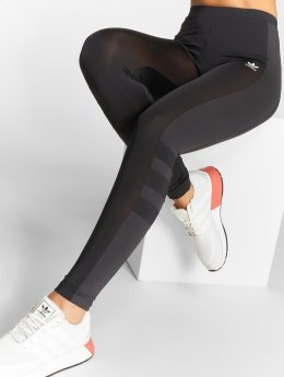 adidas originals Leggings/Treggings Stripes czarny