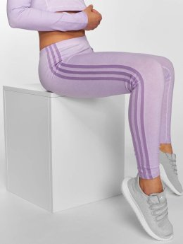 adidas originals Leggingsit/Treggingsit 3 Stripes purpuranpunainen