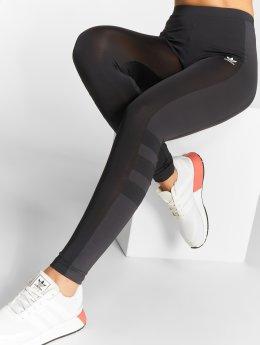 adidas originals Leginy/Tregginy Stripes  čern