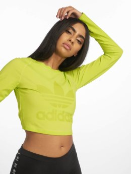 adidas Originals Longsleeves Crop zielony