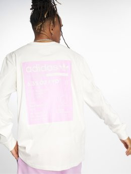 adidas originals Maglietta a manica lunga Kaval Grp bianco