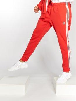 adidas originals Pantalone ginnico Sst Tp rosso