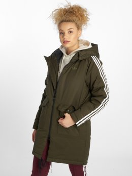 adidas originals Parka Down olijfgroen