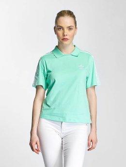 adidas originals poloshirt Polo groen