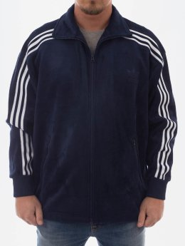 adidas Originals Prechodné vetrovky Velour Bb Tt modrá