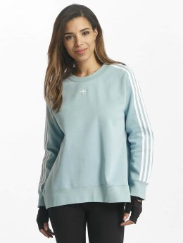 adidas originals Pullover 3 Stripes blau