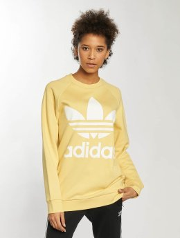 adidas originals Frauen Pullover Oversized in gelb